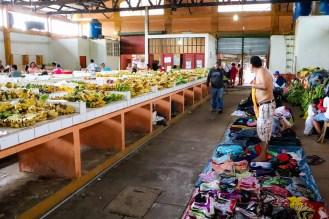 Markt in Nauta Peru