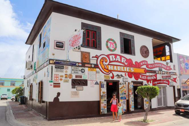 Charlie´s Bar in San Nicolas, Aruba