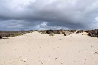 Sanddüne auf Boca Prins