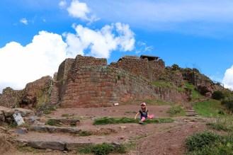 Pisac Inka Ruinen