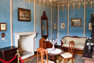 Blauer Salon Burg Rheinstein