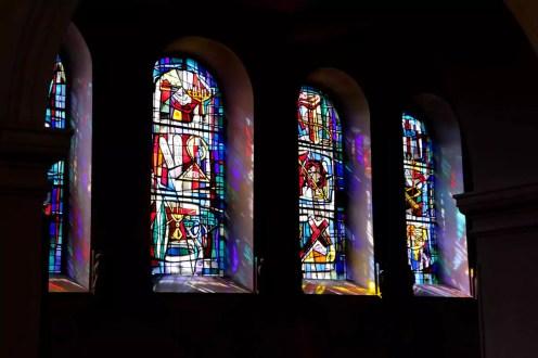 Bleiglasfenster von der Michaelskirche