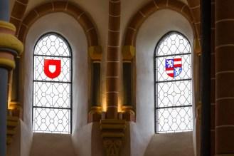 Bleiglasfenster Burg Vianden