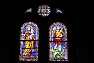 Bleiglasfenster von Église Saint-Alphonse