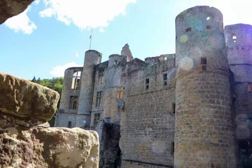 Türme von Burg Beaufort