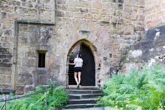 Eingang Burg Beaufort