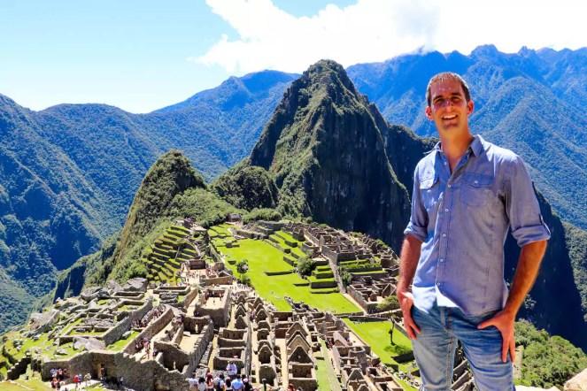 Machu Picchu bei schönem Wetter
