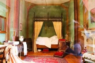 Schlafzimmer Romantik-Schloss Burg Rheinstein