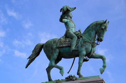 Statue von Guillaume II. in Luxemburg