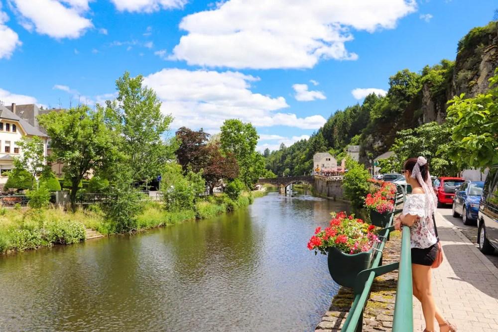 Flusspromenade Vianden