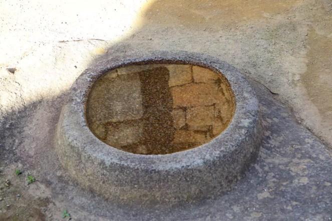 Wasserspiegel bei Machu Picchu