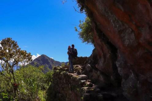 Weg zur Inca Bridge