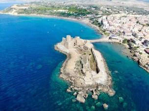 Le Castella aus der Luft