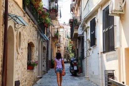 Auf den Straßen von Scilla