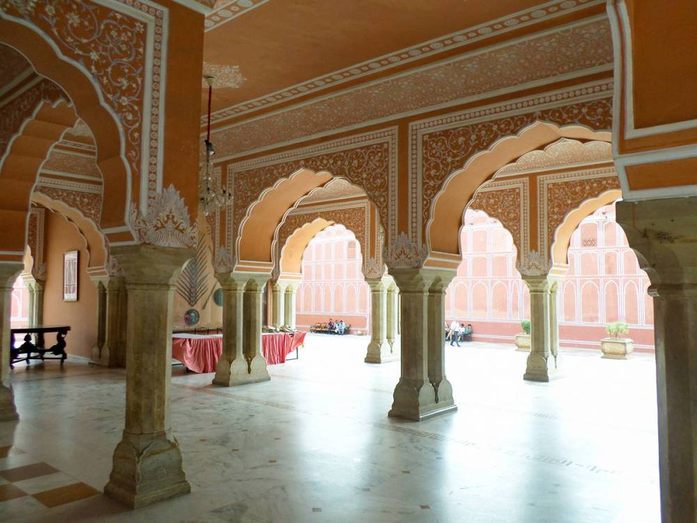 Diwan-i-Aam City Palast Jaipur