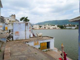 Ghat Badetreppe Pushkar