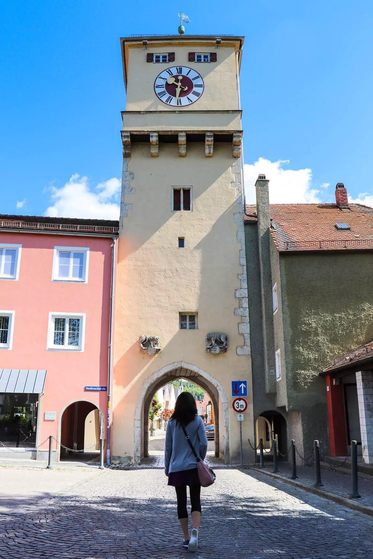 Wöhrdplatz Kelheim