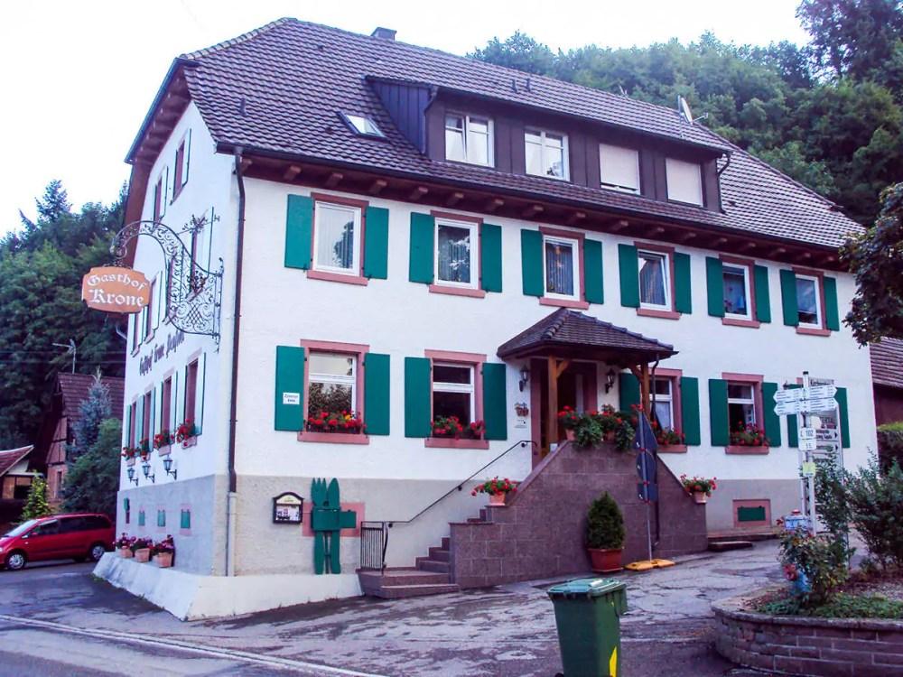 Gasthof Krone im Schuttertal, Schwarzwald