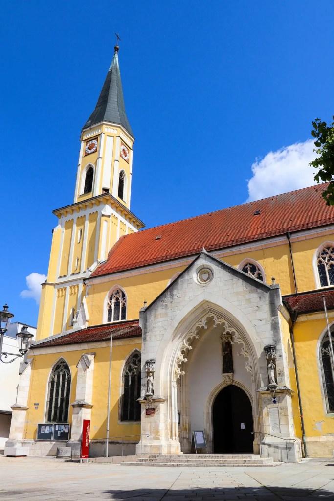 Stadtpfarrkirche in Kelheim