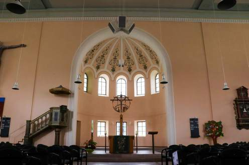 Altar in der St.-Pauls-Kirche in Dinkelsbühl