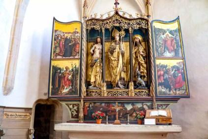 Altar St. Wolfgangskirche Rothenburg