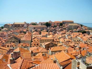 Aussicht auf Dubrovnik Altstadt