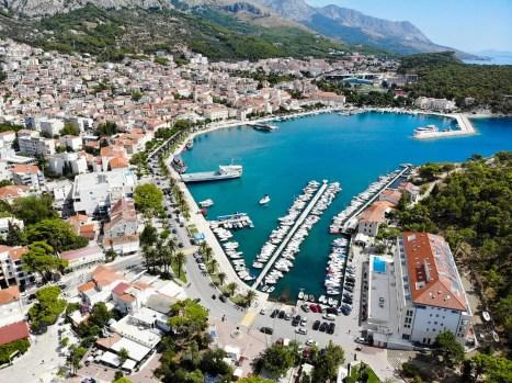 Hafen Makarska