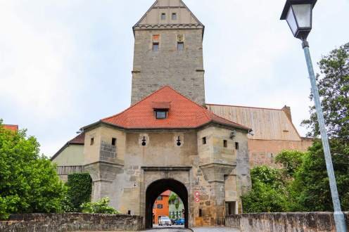 Rothenburger Tor in Dinkelsbühl