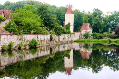 Rothenburger Weiher mit der Faulturm