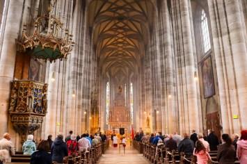 St.-Georgs-Münster von innen