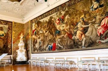 Vorzimmer Nördliche Kaiserzimmer Residenz Würzburg
