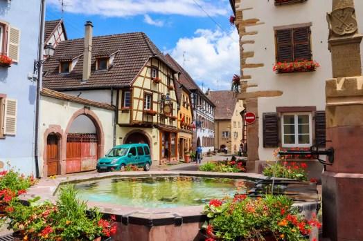 Brunnen Eguisheim