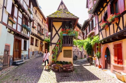 Eguisheim Frankreich