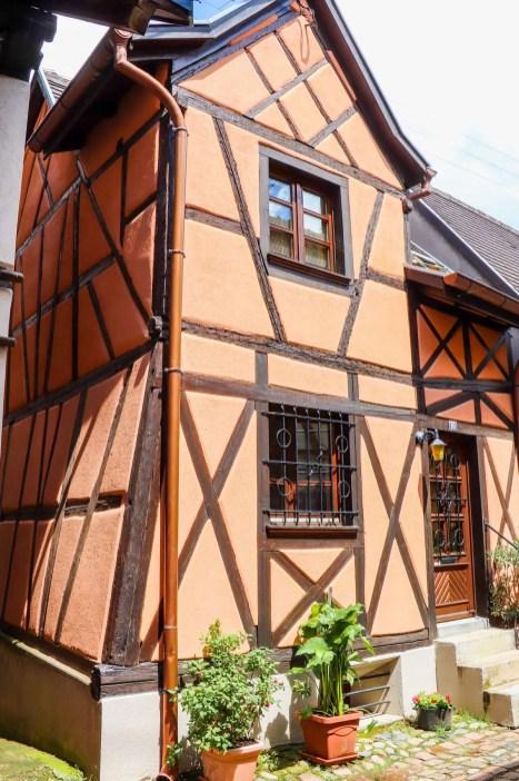 Fachwerkhaus in Eguisheim