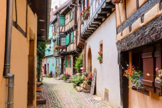 Mittelalterliche Häuser Eguisheim