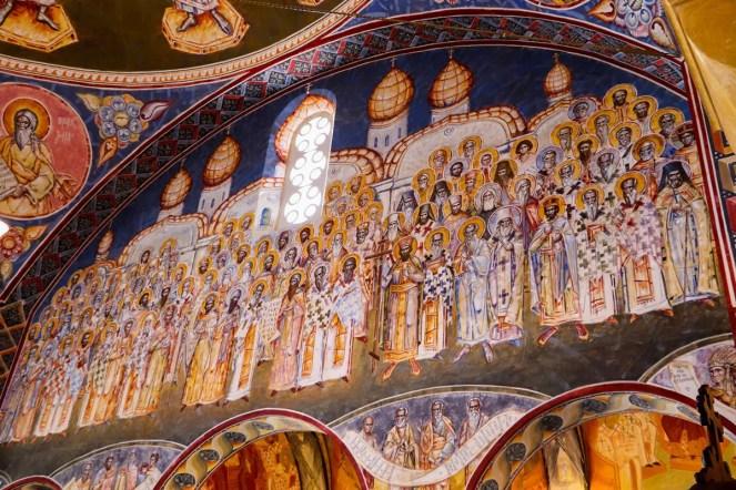 Malerei in der Kirche St. Jovan Vladimir