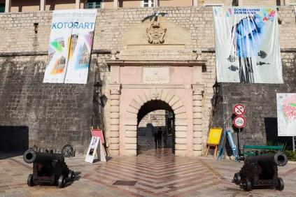 Sea Gate in Kotor