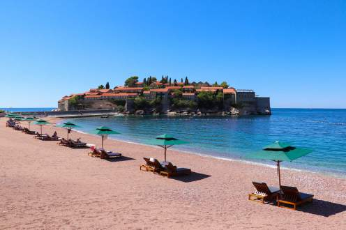Strand Sveti Stefan