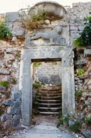 Tor Burg von San Giovanni Kotor