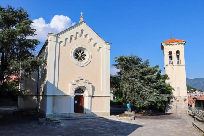 Kirche St. Jerome Herceg Novi