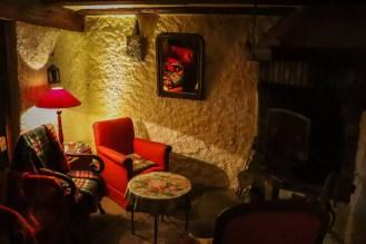 Sitzbereich Hostellerie des Seigneurs de Ribeaupierre