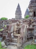 Prambanan nach Erdbeben