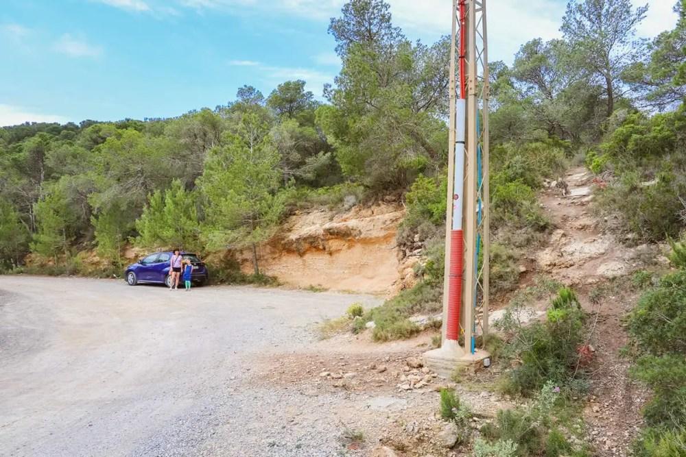 Ausgangspunkt zu Arc de Pedra
