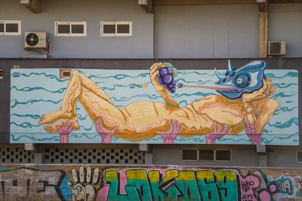 Graffiti in Sant Antoni de Portmany