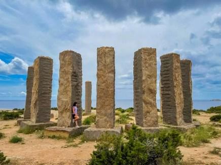 Basaltsäulen Time and Space Ibiza