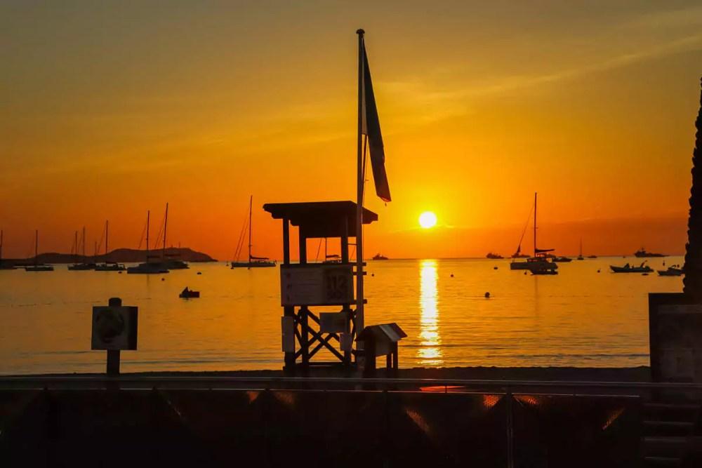 Playa es Pouet Sant Antony Ibiza