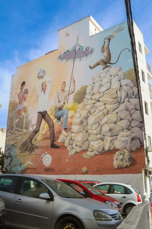 Streetart in Sant Antoni de Portmany