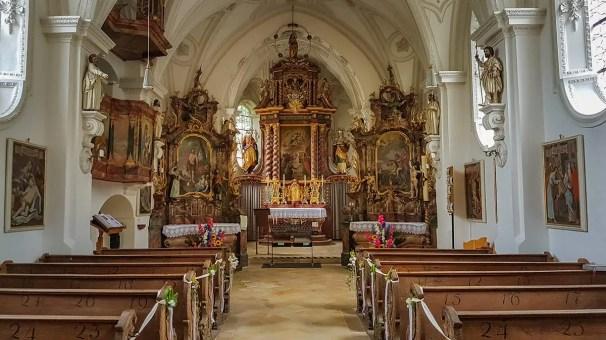 Barrocke Hofmarkskirche