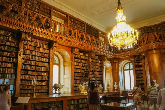 Bibliothek Schloss Festetics