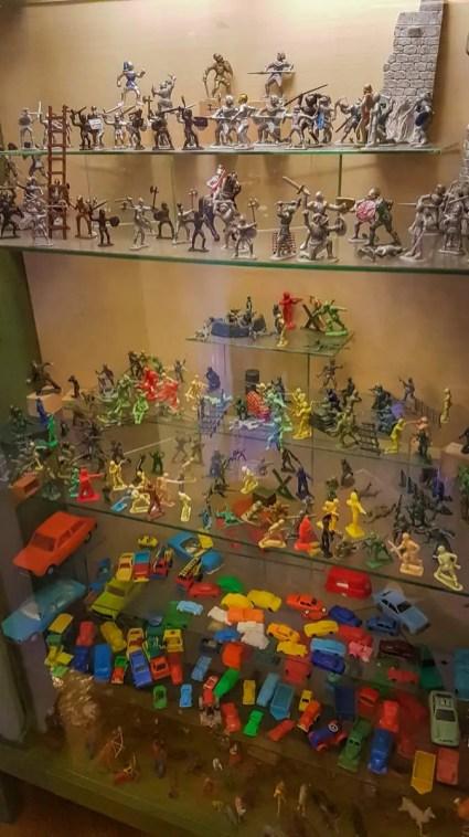 Spielfiguren im Spielzeugmuseum Keszthely